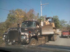 camion de salida de la puya